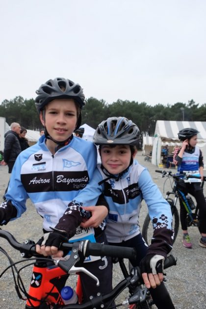 Bike and Run de La Teste : Quentin et Lucas